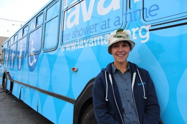 Old Muni Buses Are Reborn As Mobile Showers For The Homeless Homeless Homeless People Olds