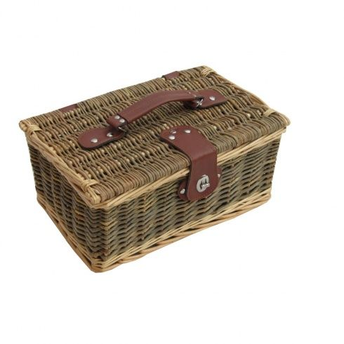 Lakeland Small Wicker Empty Hamper Basket Storage Basket