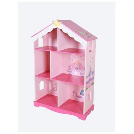 Princess Bookcase Bookshelf Dollhouse Pastel Rakuten
