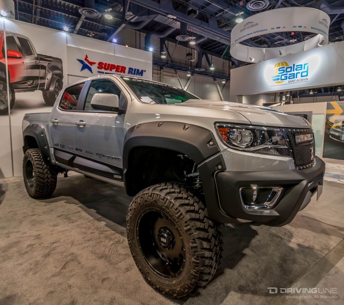 Sema Top Ten Trucks Page 2 Chevy Colorado Gmc Canyon Chevy