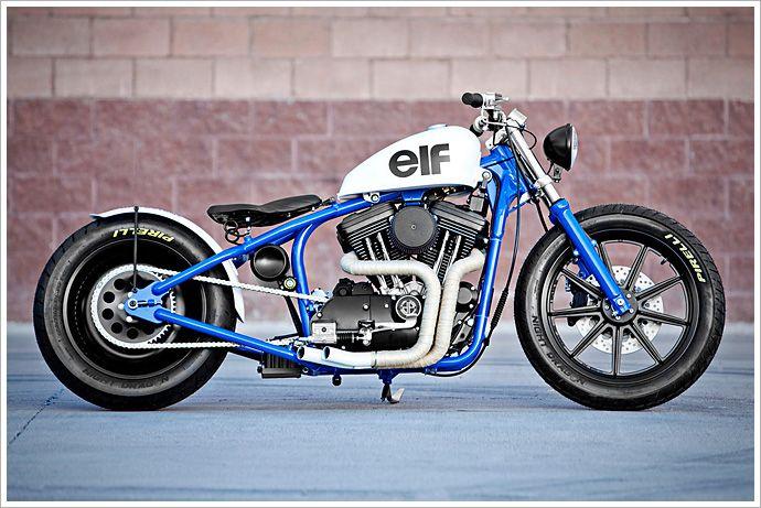 """DP Customs '95 Harley Sportster - """"delRey"""" - Pipeburn - Purveyors of Classic Motorcycles, Cafe Racers & Custom motorbikes"""