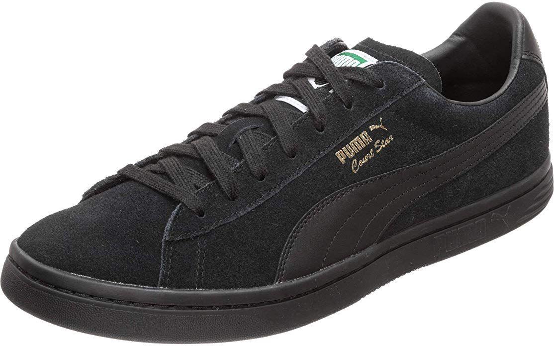 Puma Court Star FS Sneaker Damen Herren Unisex Schwarz (mit ...