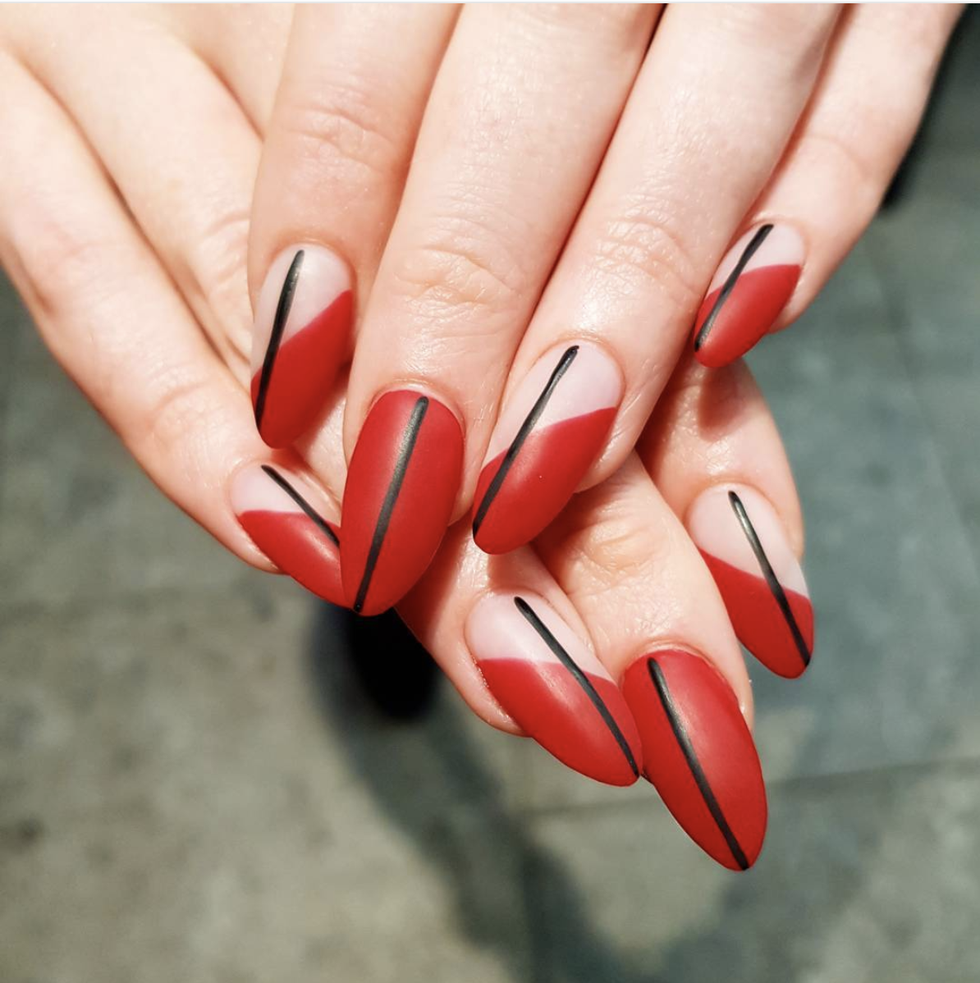 eed nail art inspiration for February 14? We\'ve found nine of the ...