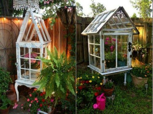 Neue Ideen für alte Fenster Alte fenster, Selbstgebautes