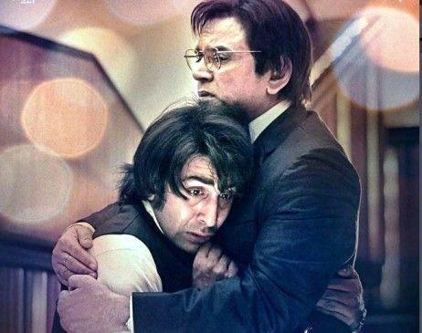 'संजू' का नया पोस्टर, संजय दत्त के पिता के किरदार में नजर ...