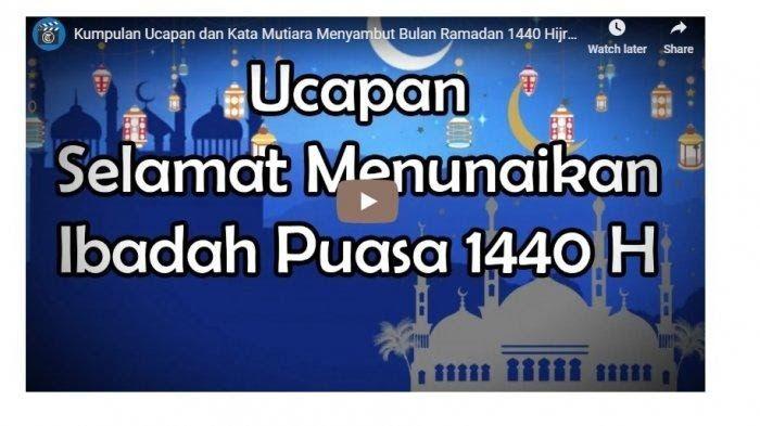 Gambar Kata Tentang Bulan Ramadhan - Video 20 Contoh