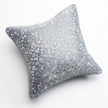 Kohls Decorative Pillows Amusing Jennifer Lopez Bedding Collection Snow Leopard Embroidered Review