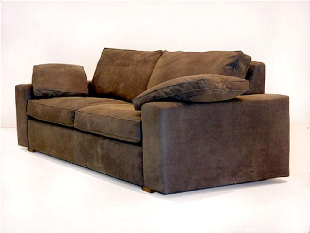 Down Wrapped Cushion Sofas Nicoletti Sofa Review Chunky Distressed Leather Cushions My Style