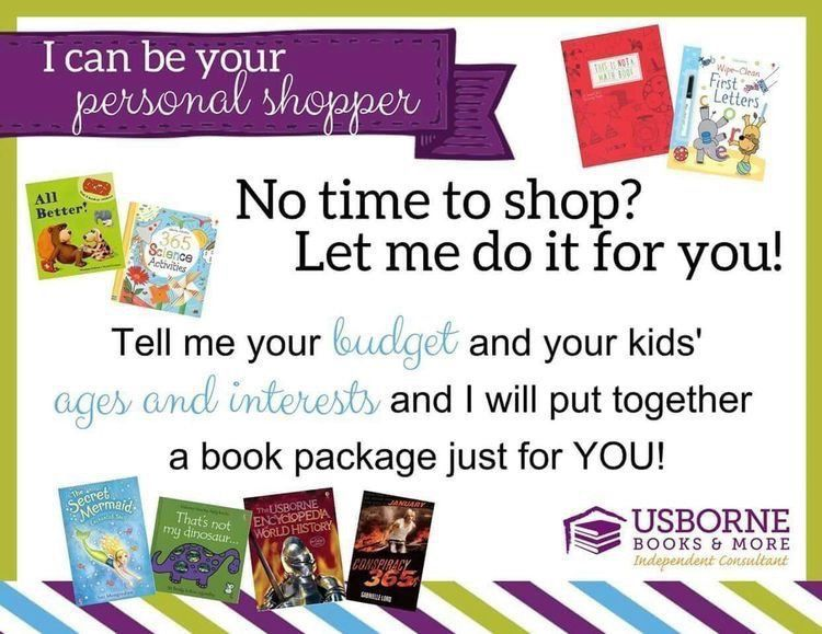 Personal Shopper Usborne Books Usborne Books Party Usborne