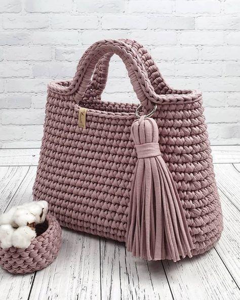 Bobble Stitch Handbag Crochet Pattern Diy Crafts Maallure Borse Fatte All Uncinetto Borse Fai Da Te Fettuccia Borse All Uncinetto