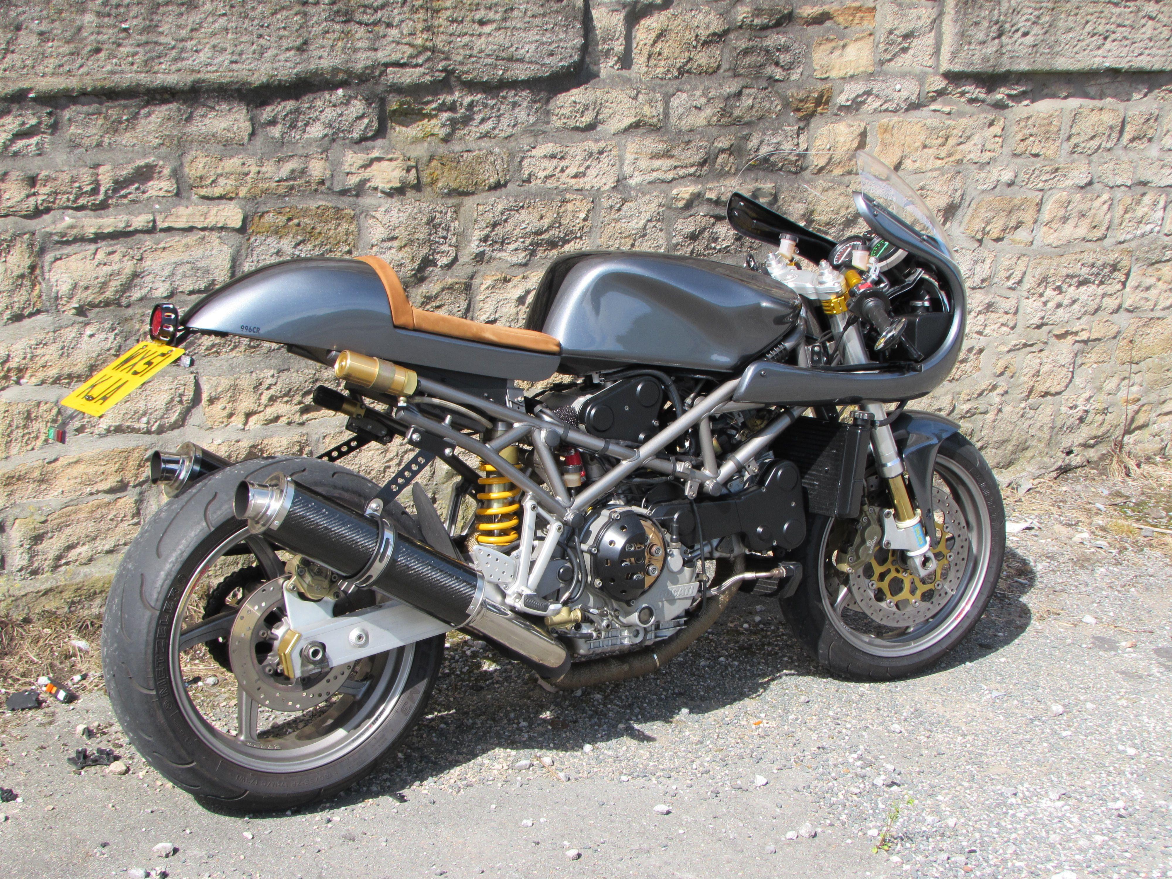 Merveilleux Ducati ST4s Cafe Racer Backyardrider.com