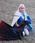 Khaleesi, Mother of Dragons Homemade Costume - 2014 Halloween Costume Contest