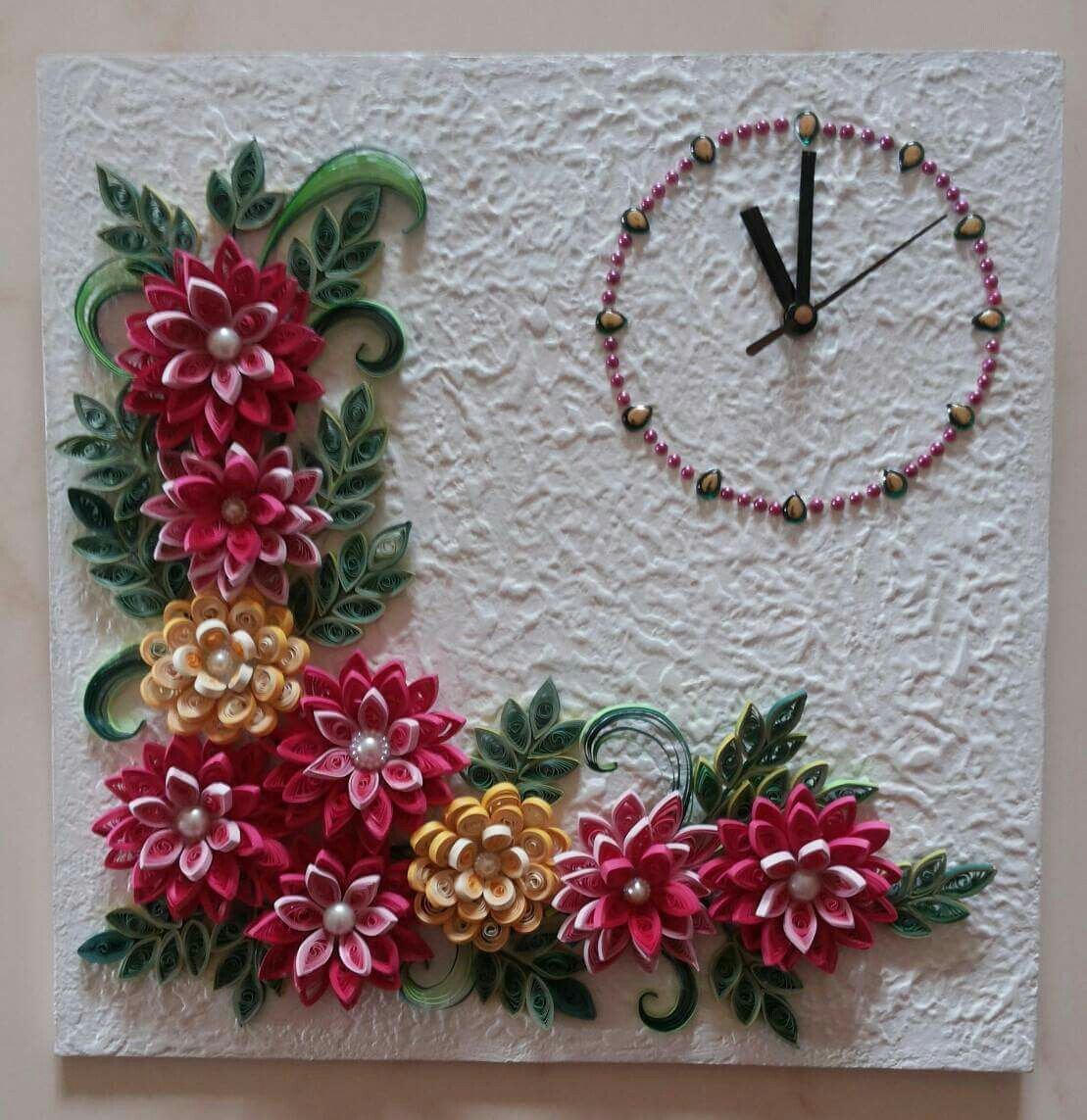Quilled Wall Clock Quilled Wall Clock