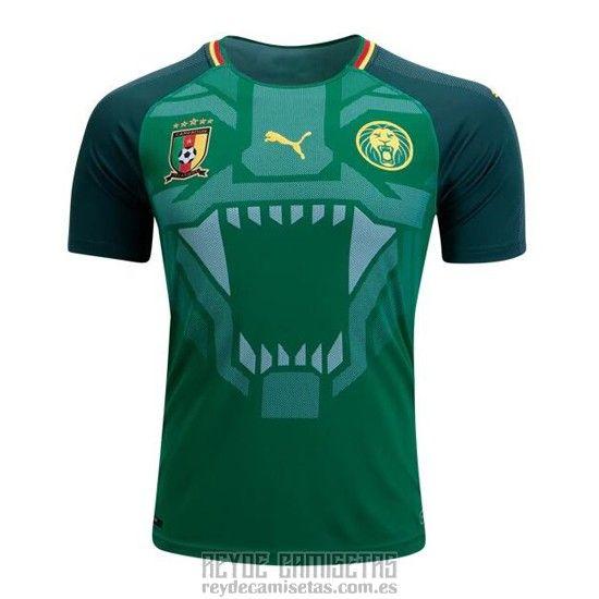 96f5a9939348c Tailandia Camiseta De Futbol Camerun Primera 2018