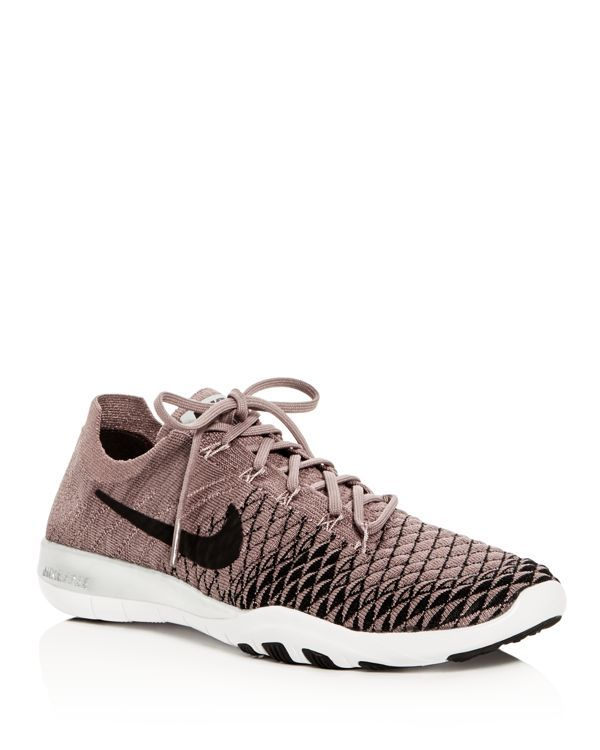 san francisco 2fb2c 57409 Nike Womens Free Tr Flyknit 2 Bionic Lace Up Sneakers