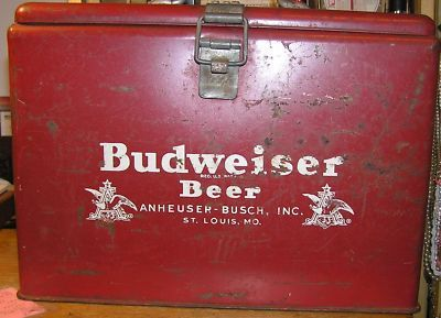 Vintage Budweiser Beer Cooler Ice Chest | Mantiques in 2019