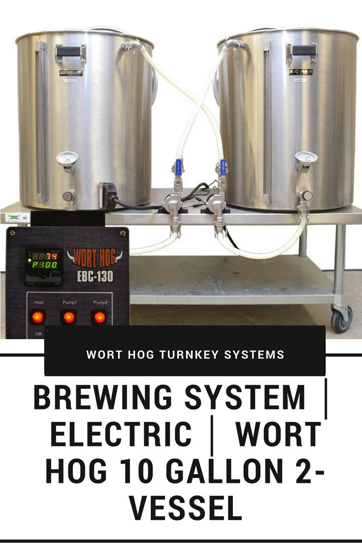 Wort Hog 10 Gallon 2 Vessel Home Brewing Beer Beer Brewing Home Brewing