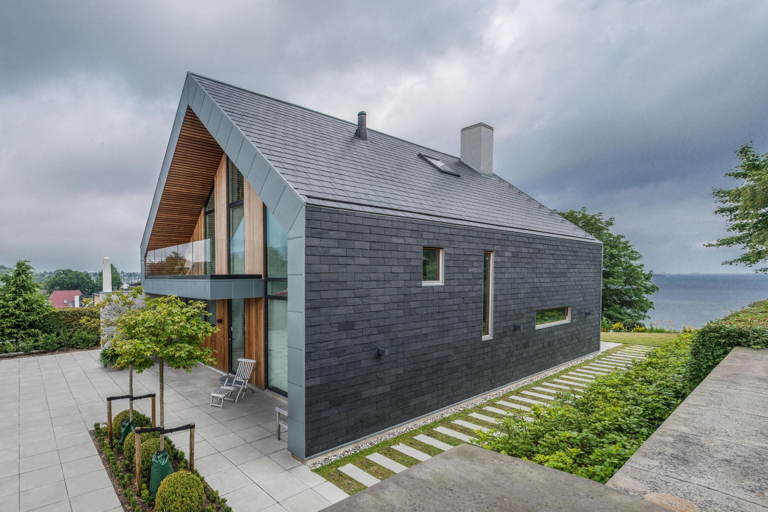 Villa P Modernes haus außen, Haus außendesign, Steinfassade
