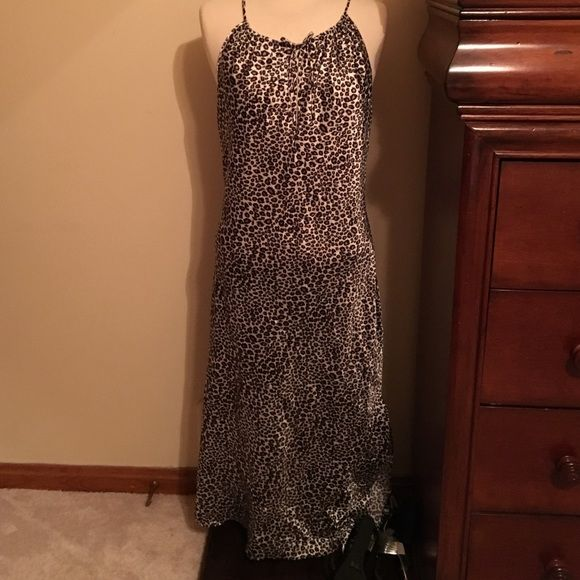 Sexy and comfortable night gown. Animal print, very soft animal print design. You will love this sexy piece  Secret treasures Intimates & Sleepwear