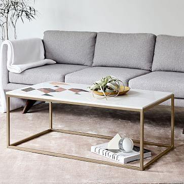 Perfect Indian Marble Coffee Table #westelm