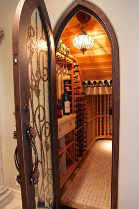 Closet Turned Into Wine Cellar There S No Place Like