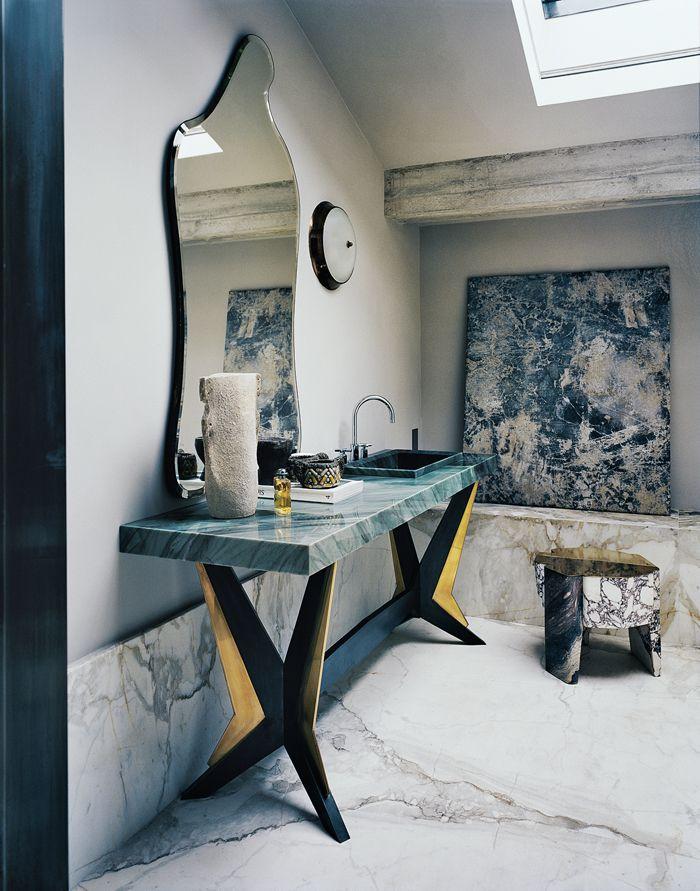 Une maison de vacances chic en Toscane Interiors, Stools and Marbles - plan d une maison simple