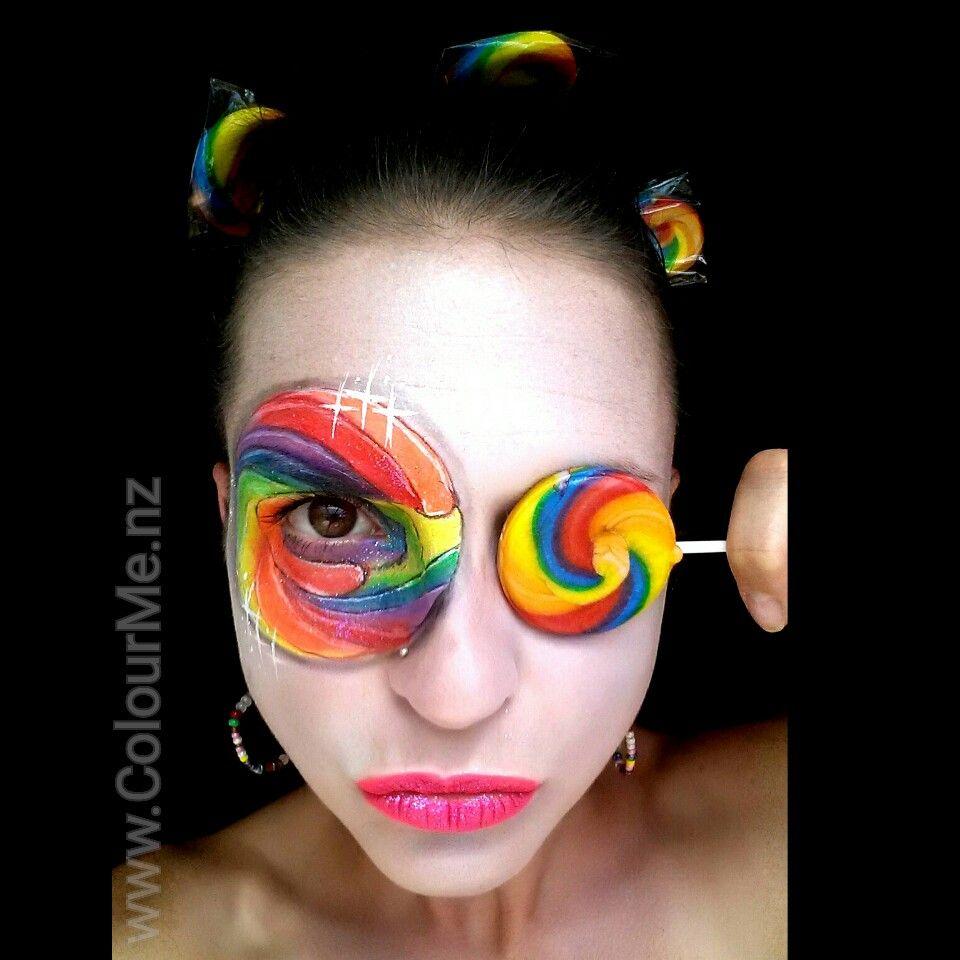 halloween makeup artist auckland
