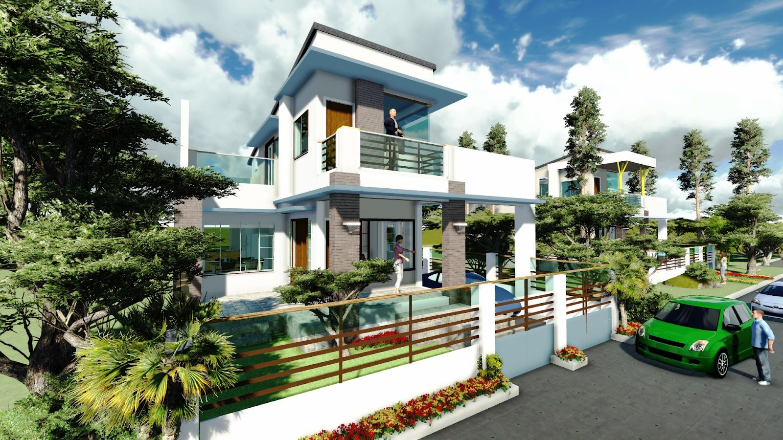 Dream home designs erecre group realty design and for House models in the philippines