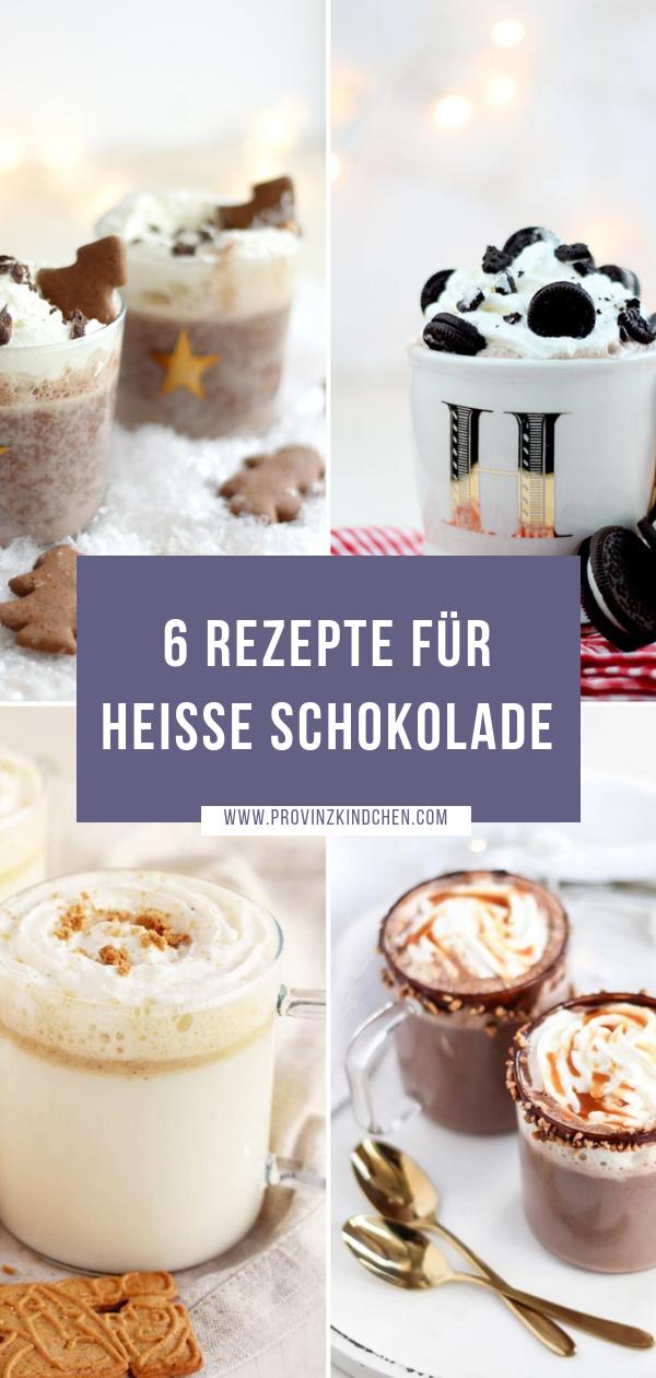 Rezepte für Heiße Schokolade #hotchocolaterecipe