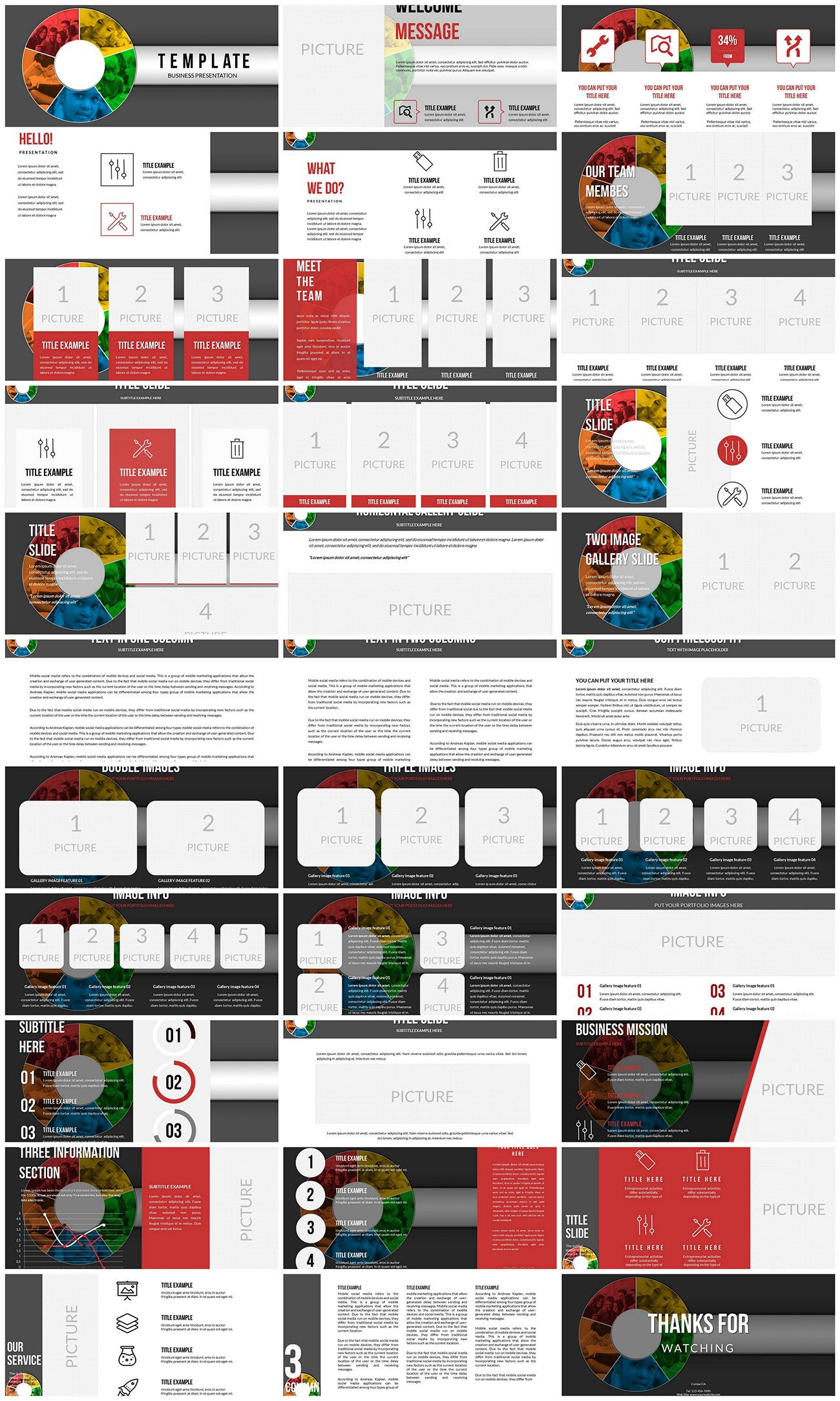 Concept Methods Teaching Powerpoint Templates Powerpoint