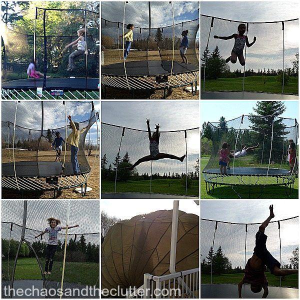 5 Trampoline Games Trampoline games, Backyard trampoline