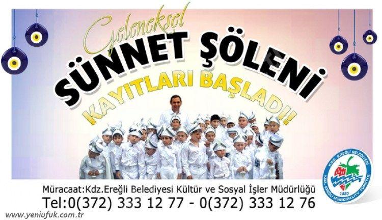Karadeniz Ereğli Belediyesi, Geleneksel Sünnet Şöleni hazırlıklarına başladı.
