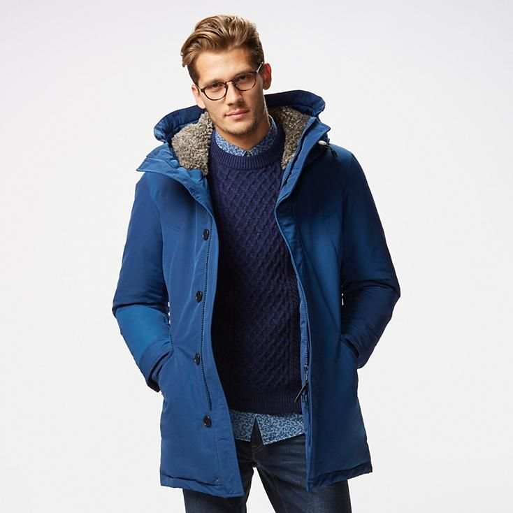 Enthusiastic 2016 New 2016 Casual Parka Men Mens Down Coat Winter Down Jacket White Duck Down Plus Size Men's Clothing