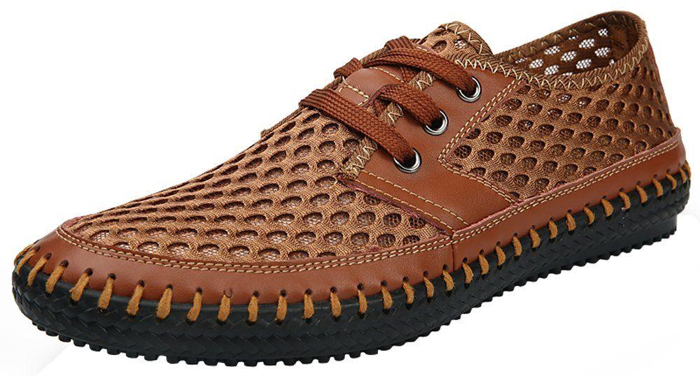 b30940f931 Amazon.com  Mohem Men s Poseidon Mesh Walking Shoes Casual Water Shoes   Clothing