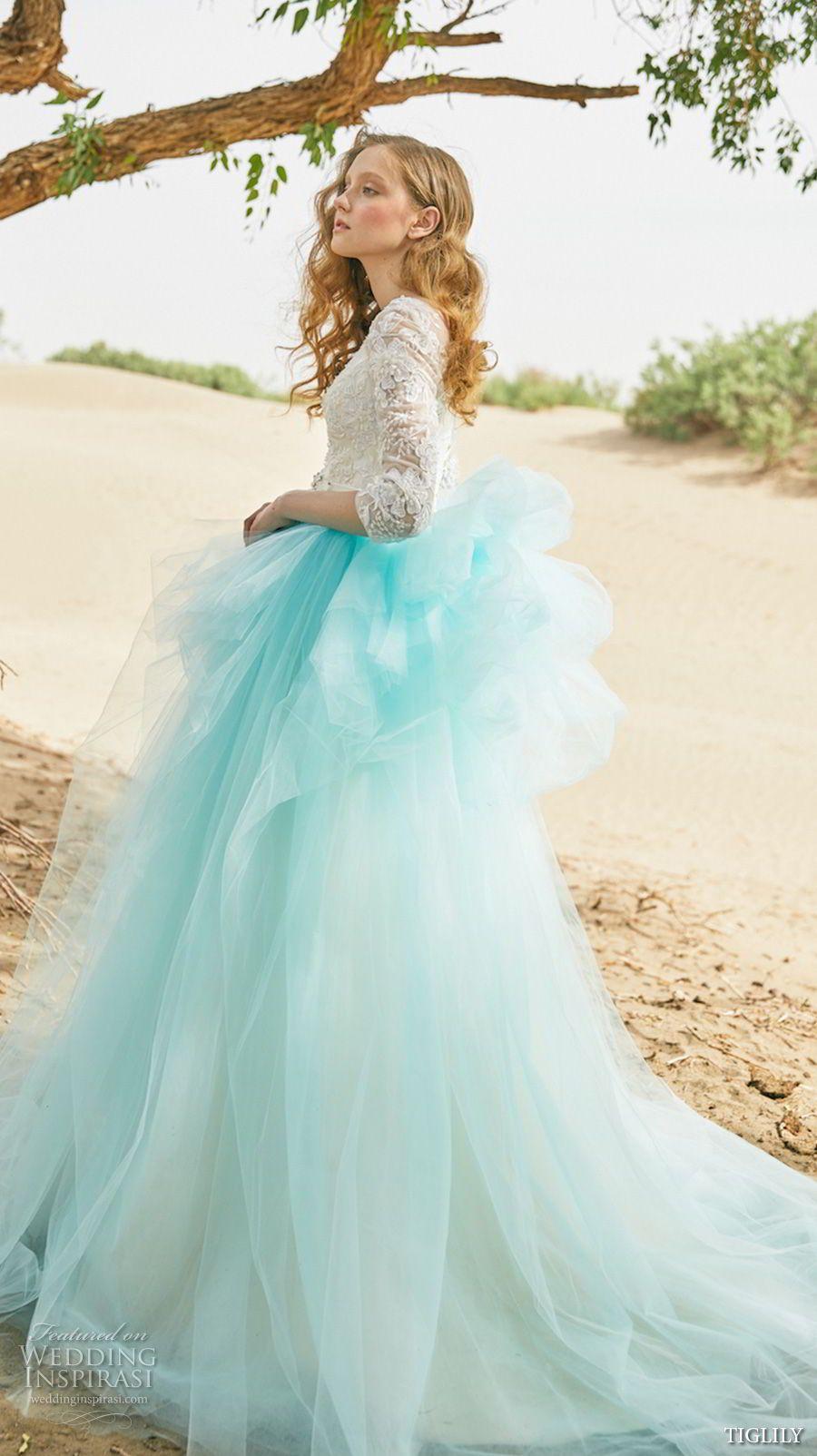 TIGLILY 2018 Wedding Dresses | Pinterest | Vestidos de novia de ...