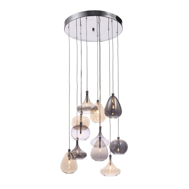 Suspension en verre nadine castorama salon pinterest for Lustre castorama