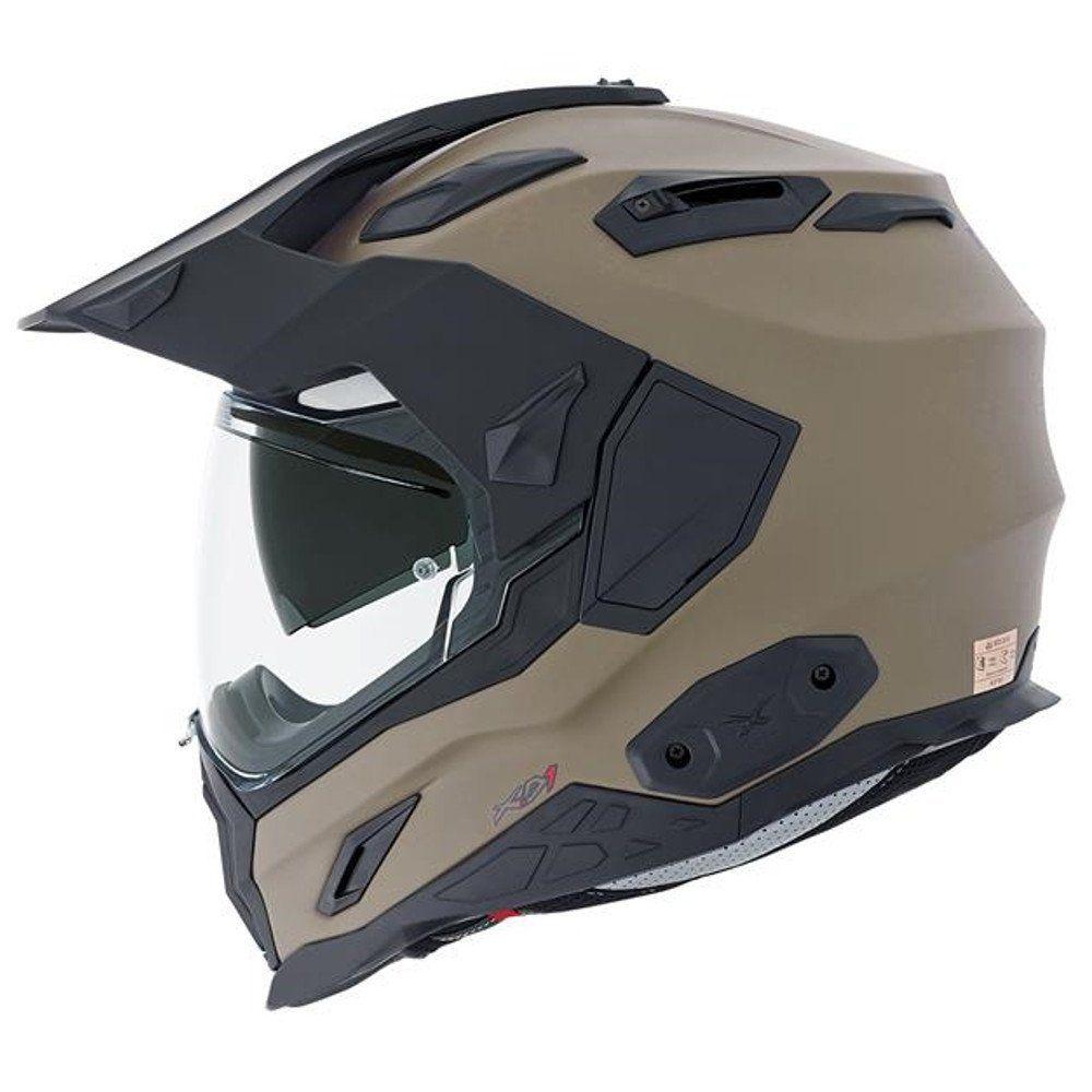 NEXX X.D1 Plain Desert Full Face Motorcycle Helmet (Large