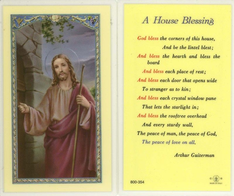 A #prayer For House #blessing. #Catholic #God #Jesus