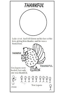 Church House Collection Blog: Thanksgiving Lesson for