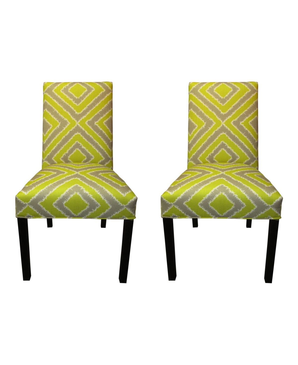 Sole Designs Nouvea Upholstered Dining Chair Set, Set of 2 ...