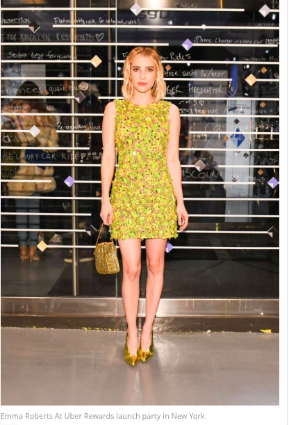 Emma Roberts On American Horror Story S Surprise Finale It S A Crazy Ending To A Crazy Season Emma Roberts Yellow Dress Dresses