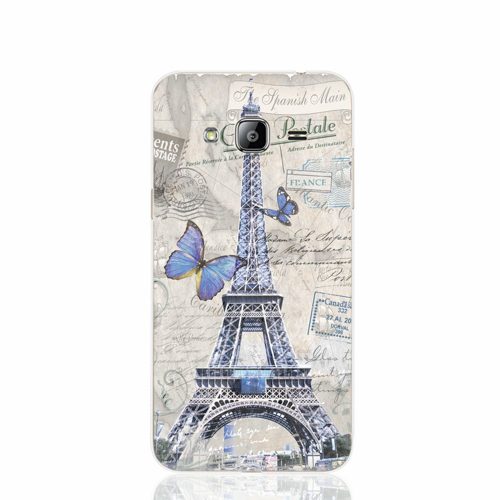 18803 paris vintage tower cell phone case cover for Samsung