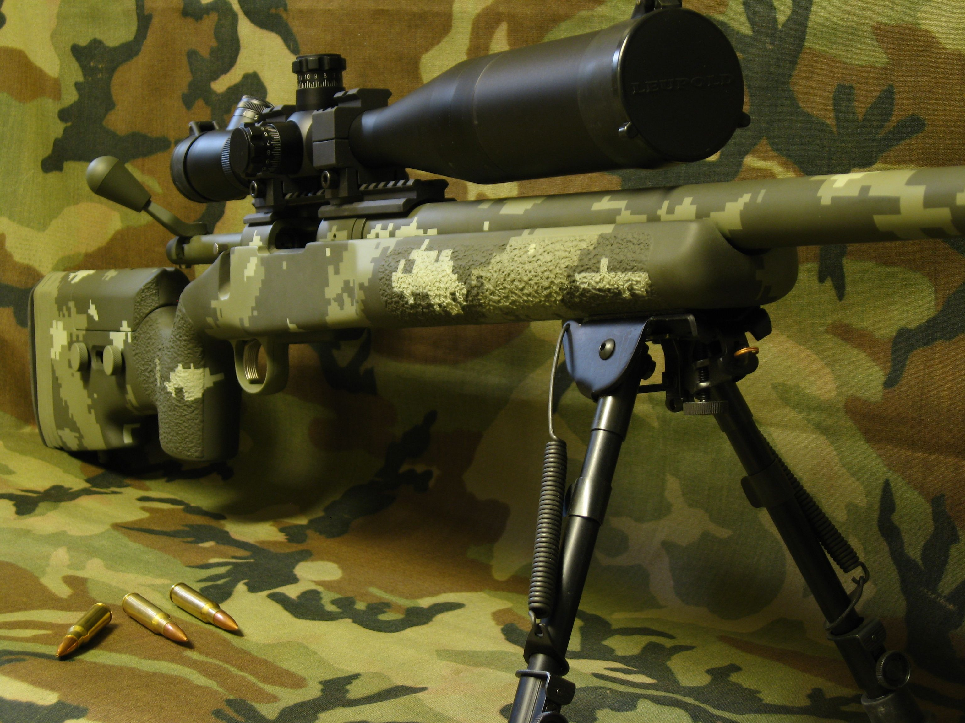 Gruning Precision: tactical rifles, Remington 700, M1A ... M14 Tactical Sniper Rifle