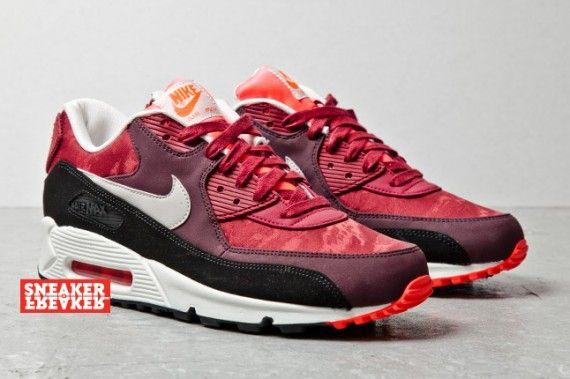 Nike Air Max 90 Jacquard: Team Red
