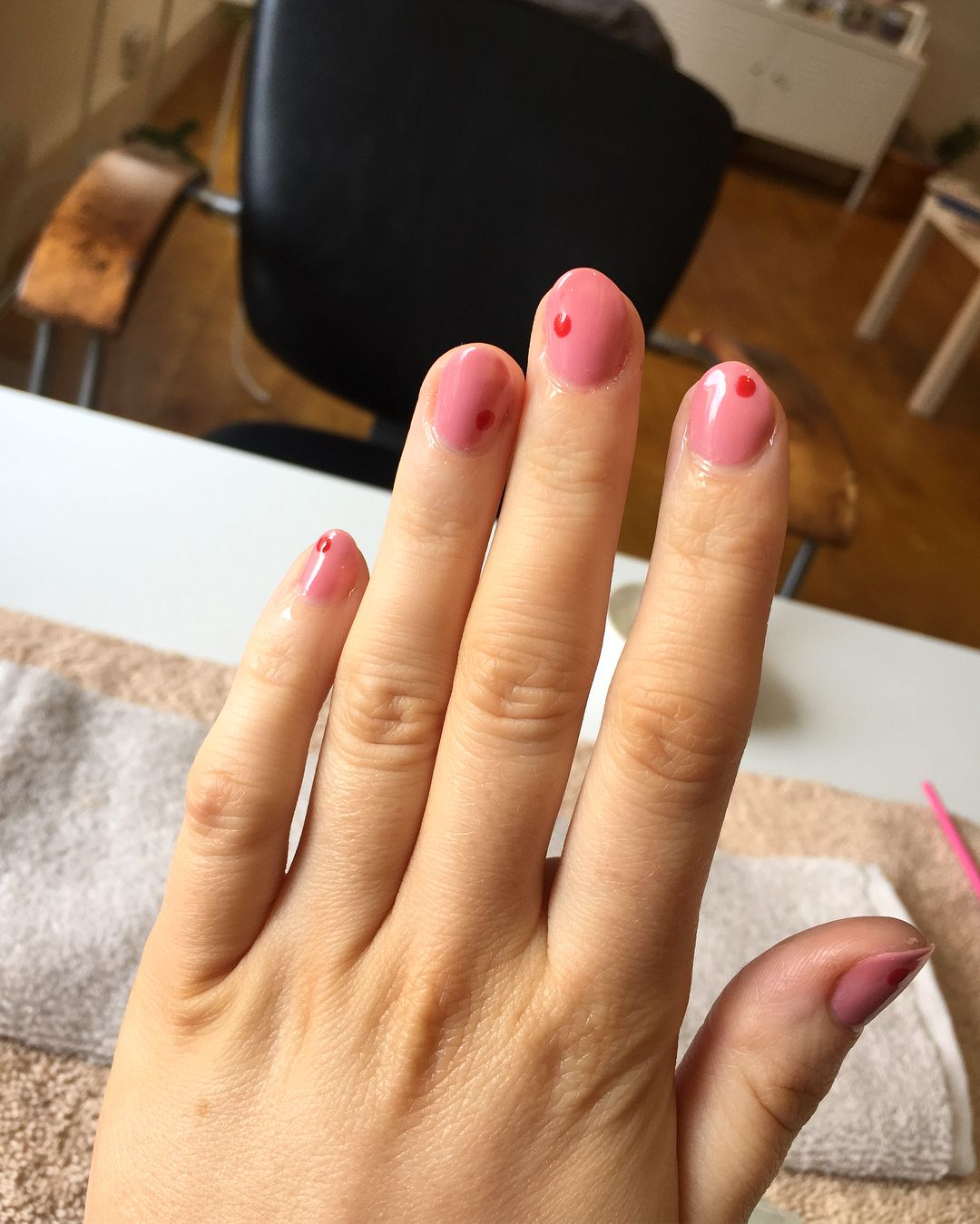 I Cannot Get Enough Of This Pink Gel Its So Delicious Omg Nails