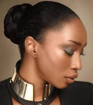 easy styles for relaxed hair  protective hairstyles for