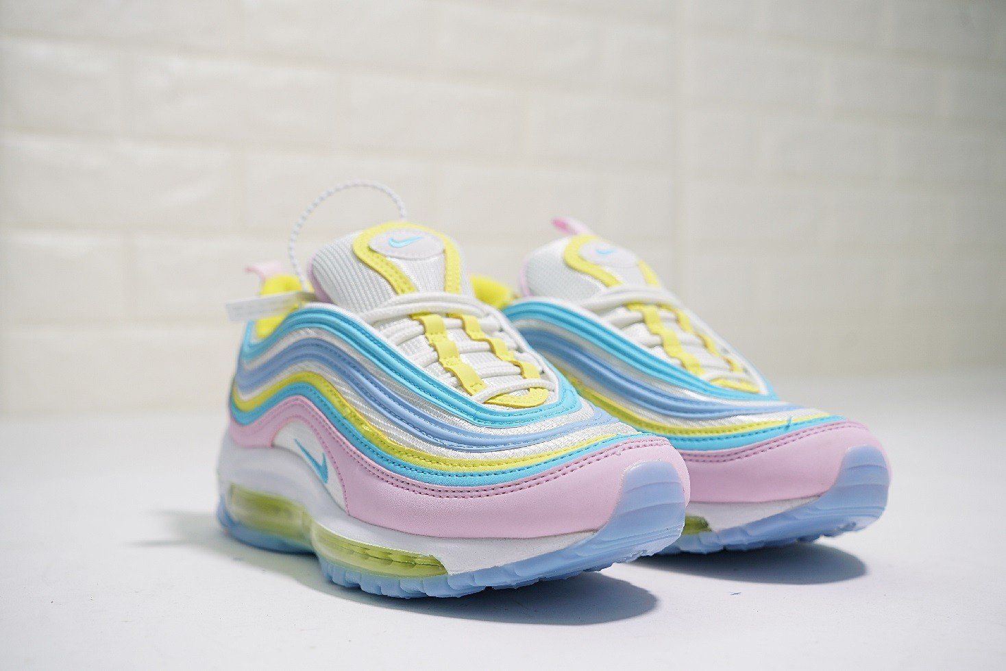 Where To Buy Women Nike Air Max 97 Pink Blue Yellow Corduroy Nike Air Max For Women Nike Air Max 97 Air Max 97