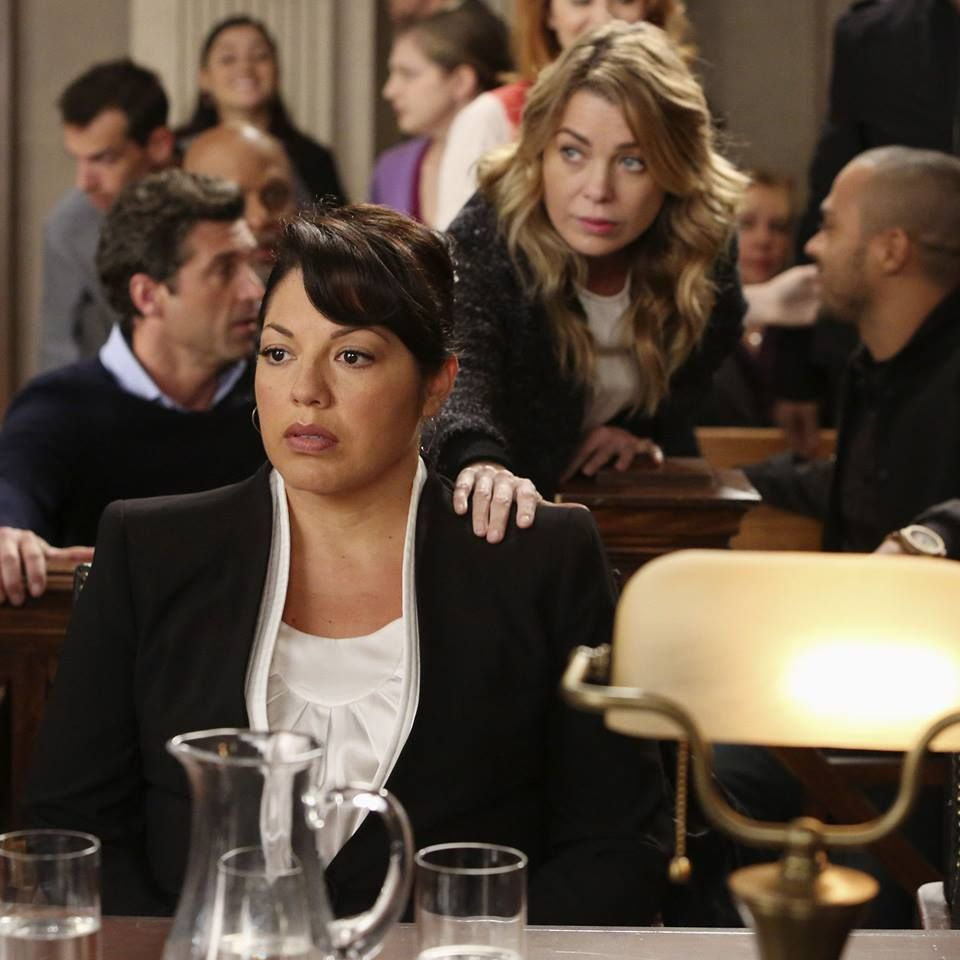Callie faces a trial that could take her medical license. | Grey\'s ...