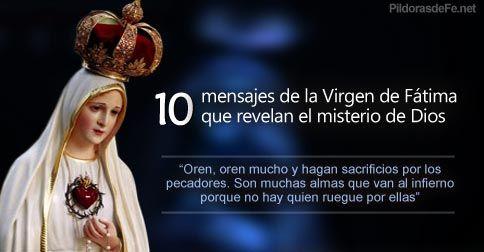 10 Mensajes De La Virgen De Fatima Que Revelan El Misterio De Dios