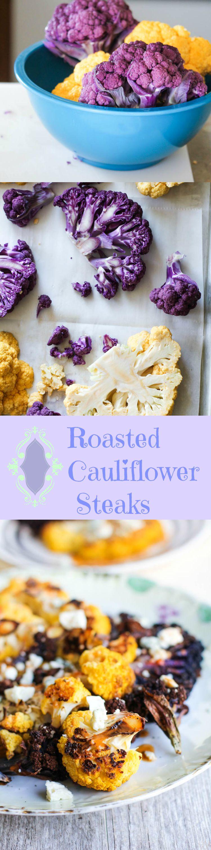 Roasted Cauliflower Steaks Pinterest